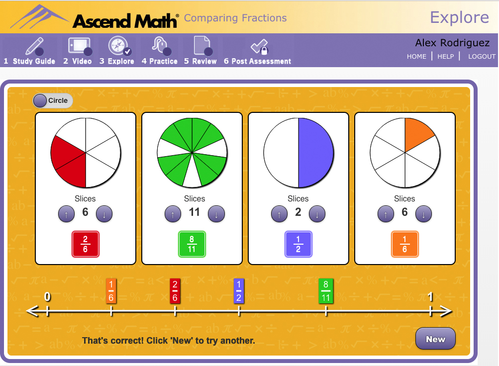 Examine Ascend Math's award-winning content.