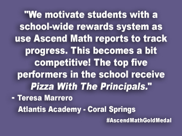 Atlantis Academy - Coral Springs Ascend Math Gold Medal