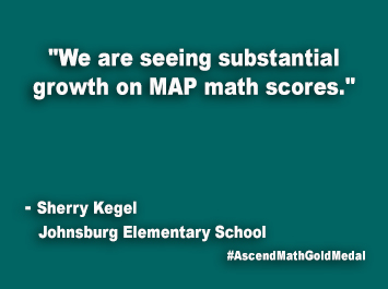 Johnsburg Elementary School Ascend Math Gold Medal
