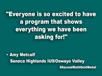 Seneca Highlands IU9-Oswayo Valley Ascend Math Gold Medal