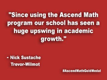 Trevor-Wilmot Ascend Math Gold Medal