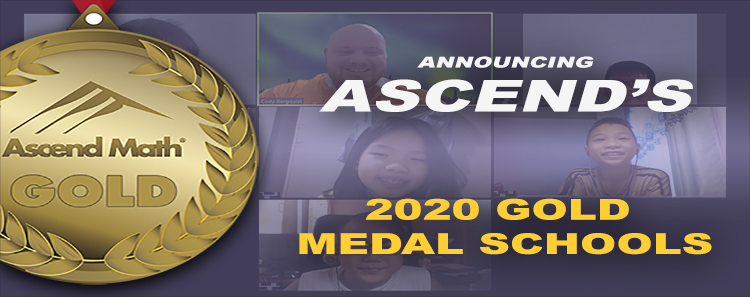 Ascend Math Gold Medal 2020